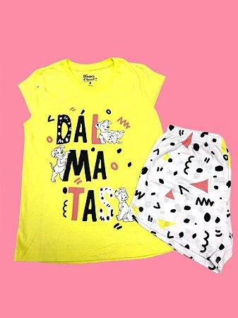 Pijama Infantil Dálmatas Feminino