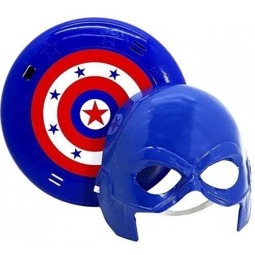 Mascara e escudo - Coleção Heróis - Capitão América