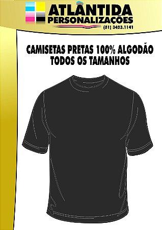 CAMISETAS PRETAS
