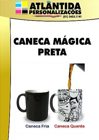 CANECA MÁGICA PRETA