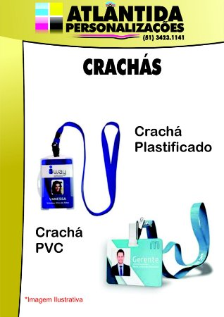 Crachás - 62x82mm
