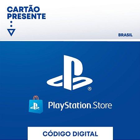 R$ 120 Playstation Network - Cartão Presente Digital [Exclusivo Brasil]