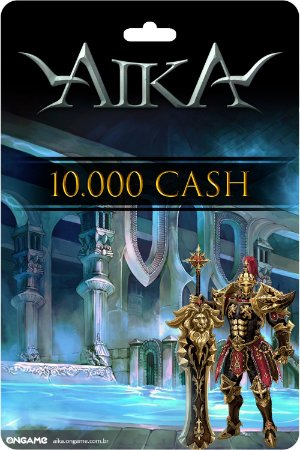 Cartão Aika 10.000 Cash - Ongame - Código Digital