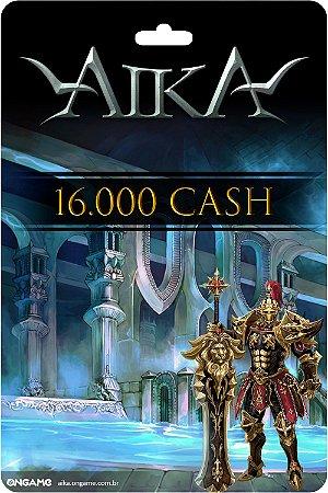 Cartão Aika 16.000 Cash- Ongame- Código Digital