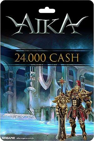 Cartão Aika 24.000 Cash - Ongame - Código Digital