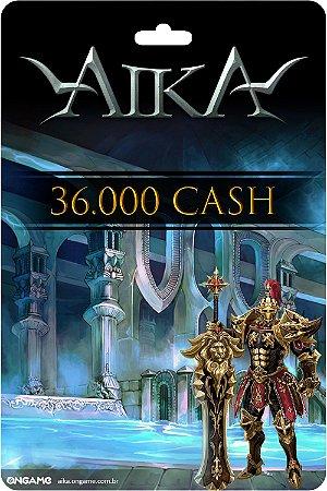 Cartão Aika 36.000 Cash - Ongame - Código Digital