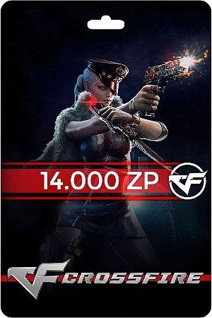 Cartão Crossfire 14.000 ZP - Código Digital