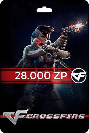 Cartão Crossfire 28.000 Zp - Código Digital