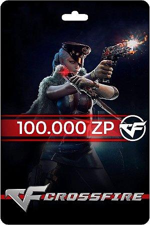 Cartão Crossfire 100.000 Zp - Código Digital
