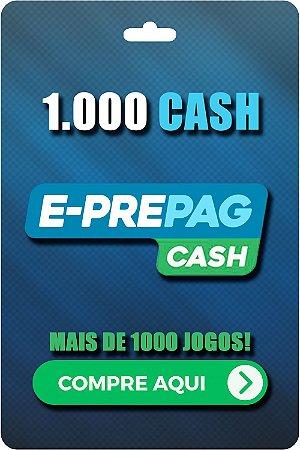 Cartão E-Prepag 1000 Cash - Código Digital
