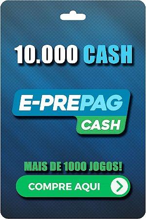 Cartão E-Prepag 10.000 Cash - Código Digital