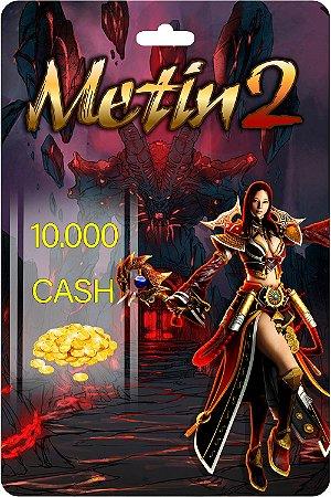 Cartão Metin2 10.000 Cash - Código Digital