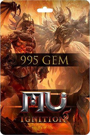 Cartão Mu Ignition 995 Gem E-Prepag - Código Digital
