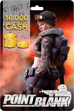 Point Blank - Cartão PB DE 36.000 Cash - Código Digital