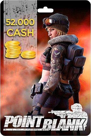 Point Blank - Cartão PB DE 52.000 Cash - Código Digital
