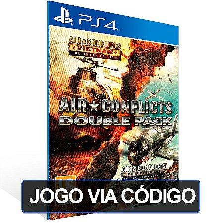 Air Conflicts: Double Pack - PS4 - Digital Código 12 Dígitos Brasileiro