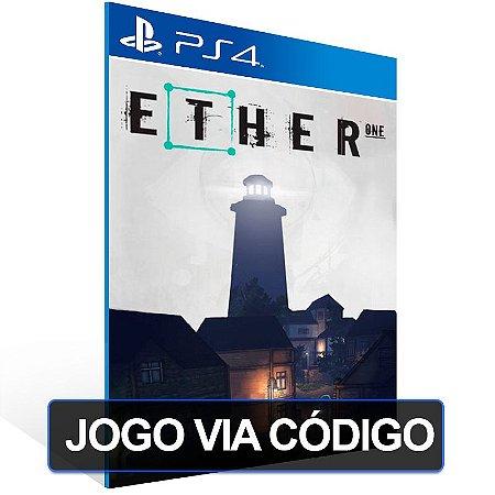 Ether One - PS4 - Digital Código 12 Dígitos Brasileiro