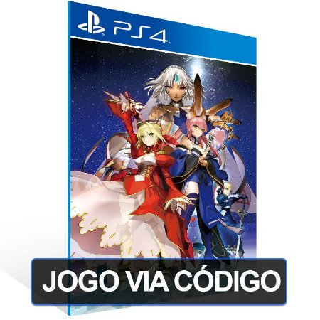 Fate/EXTELLA: The Umbral Star - PS4 - Digital Código 12 Dígitos Brasileiro