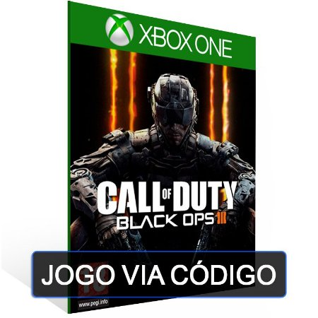 25 dígitos CALL OF DUTY BLACK OPS III