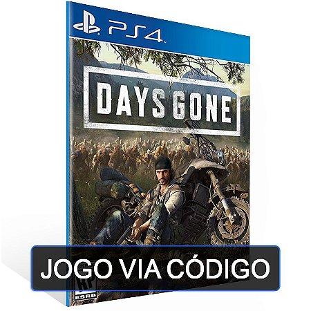 Days Gone - PS4 - DIGITAL CÓDIGO 12 DÍGITOS BRASILEIRO