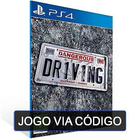 Dangerous Driving -PS4- DIGITAL CÓDIGO 12 DÍGITOS BRASILEIRO
