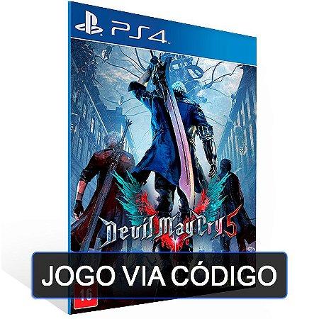 Devil May Cry 5 - PS4 - DIGITAL CÓDIGO 12 DÍGITOS BRASILEIRO