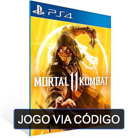 Mortal Kombat 11 - PS4 - CÓDIGO 12 DÍGITOS BRASILEIRO