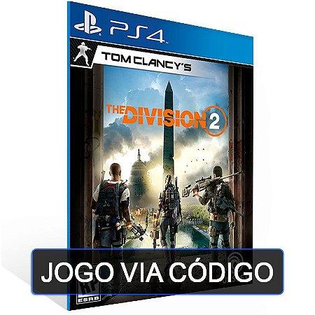 Tom Clancy's The Division 2 - PS4 - DIGITAL CÓDIGO 12 DÍGITOS BRASILEIRO