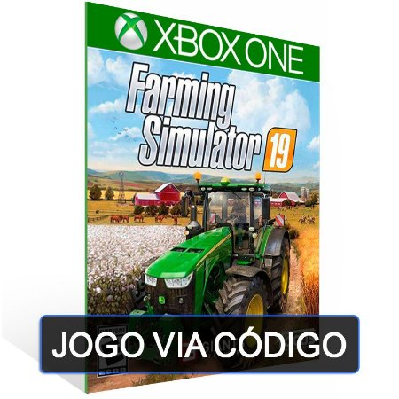 Farming Simulator 19 - XBOX - CÓDIGO 25 DÍGITOS BRASILEIRO