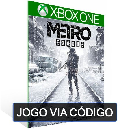 Metro Exodus - XBOX - CÓDIGO 25 DÍGITOS BRASILEIRO