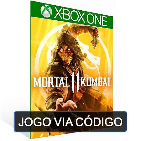 Mortal Kombat 11-XBOX-  CÓDIGO 25 DÍGITOS BRASILEIRO