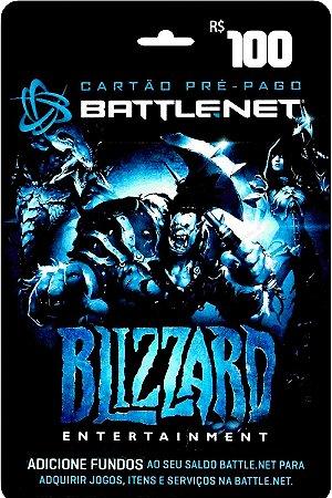 Cartão Battle.Net R$ 100 reais - Brasileiro - Código Digital