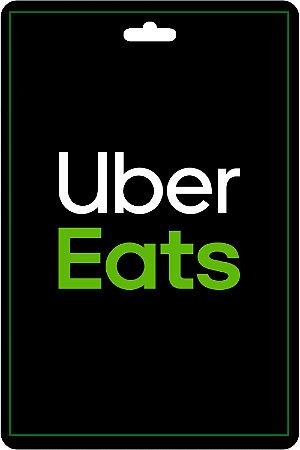 Cartão Uber Eats R$25 Reais Pré - Pago Vale Presente App - CÓDIGO DIGITAL
