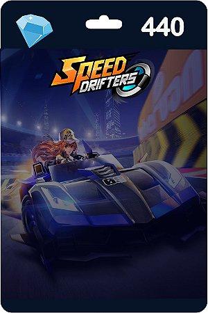 Cartão Garena Speed Drifters 440 Diamantes - Código Digital