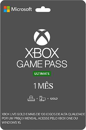 Cartão XBOX Game Pass Ultimate 1 Mês Brasil- CÓDIGO DIGITAL
