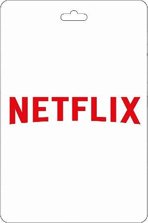 Cartão R$ 130 Reais Pré-pago Netflix - Código Digital