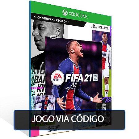 FIFA 21 - XBOX - CÓDIGO 25  DÍGITOS BRASILEIRO