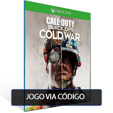 Call of Duty Black Ops Cold War - Edição Padrão - Código 25 dígitos - Xbox One