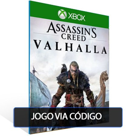 Assassin's Creed Valhalla - Xbox One - Codigo de 25 digitos brasileiro