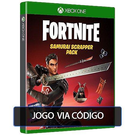 Fortnite - Pacote Samurai da Sucata XBOX ONE - Código 25 Dígitos Digital