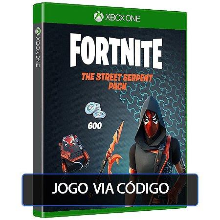 Fortnite — Pacote Serpente Urbana XBOX ONE - Código 25 Dígitos Digital