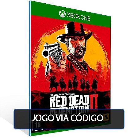 Red Dead Redemption 2  - XBOX - CÓDIGO 25  DÍGITOS BRASILEIRO