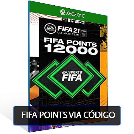 FIFA 21- 12000 Fifa points  - XBOX ONE- Código 25 Dígitos Digital