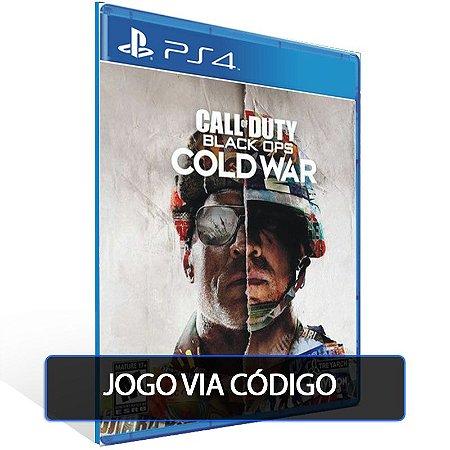 Call of Duty Black Ops Cold War - Edição Padrão - Código 12 dígitos - PS4