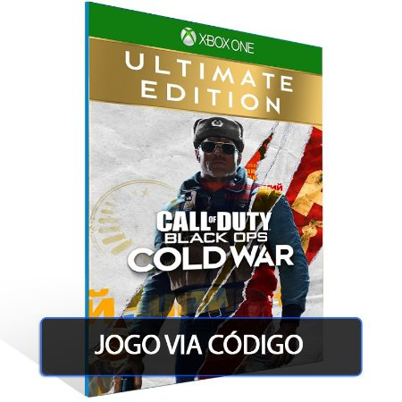 Call of Duty Black Ops Cold War - Ultimate Edition- Código 25 dígitos - Xbox One