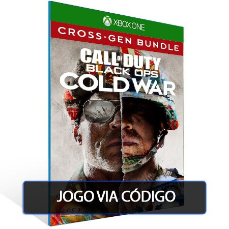 Call of Duty Black Ops Cold War -Cross-gen bundle - Código 25 dígitos - Xbox One