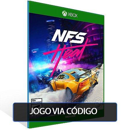Need for Speed Heat- Código 25 dígitos - Xbox One