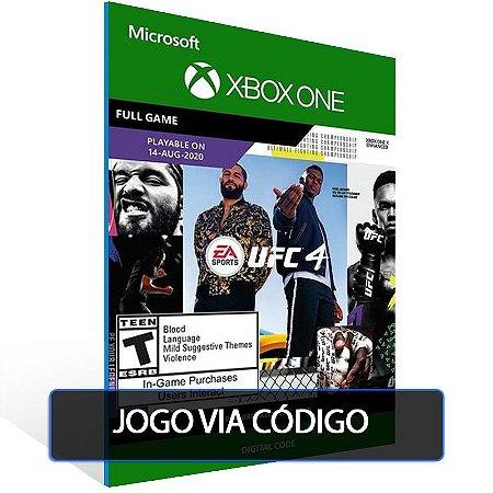 UFC 4  - Código 25 dígitos - Xbox One