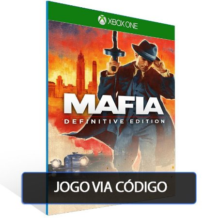 Mafia Defeinitive Edition - Código 25 dígitos - Xbox One