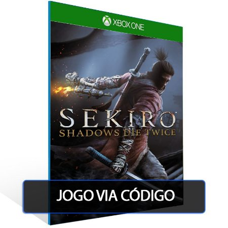 Sekiro: Shadows Die Twice- Código 25 dígitos - Xbox One